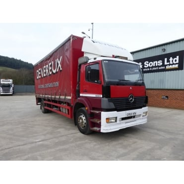 Atego 1823 4 x 2 Curtainsider, Manual Gearbox 2003
