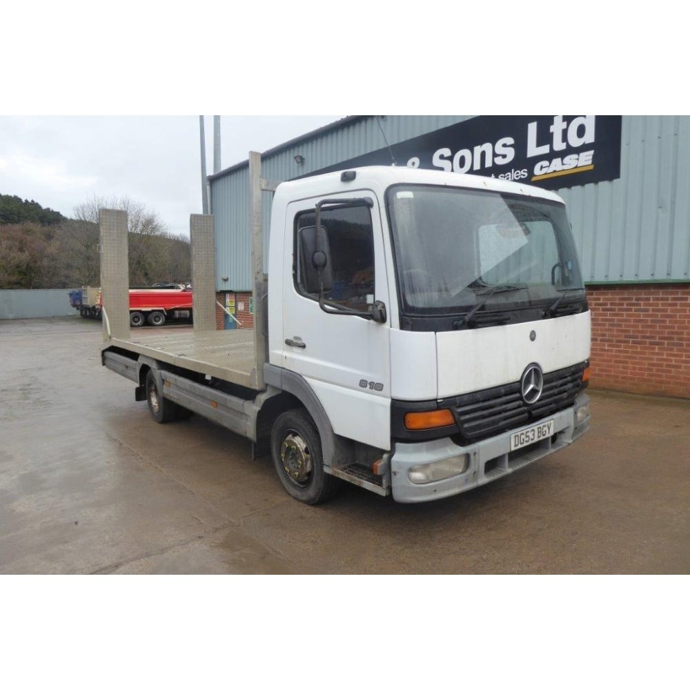 Atego 818 4x2 Plant Lorry 2003 MANUAL GEARBOX