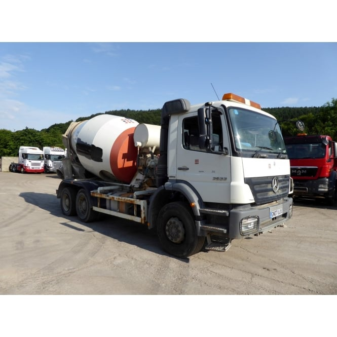 MERCEDES Axor 2633 6x4 Concrete Mixer 2007 Manual Gearbox
