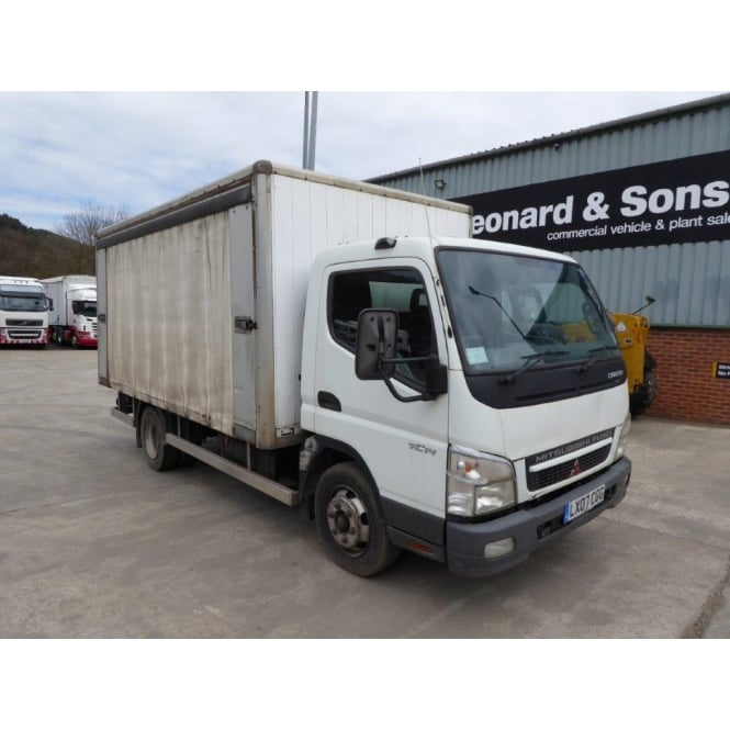 MITSUBISHI Canter 7C14 4x2 Curtainside 2007 MANUAL GEARBOX