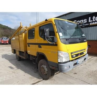 Canter 7C14D 4 x 4 Cable Carrier, Manual Gearbox 2006