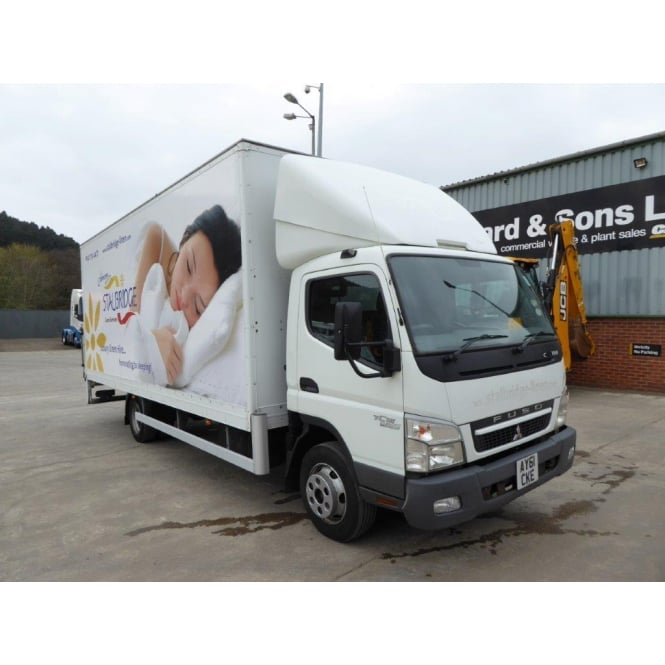 MITSUBISHI Canter 7C15 4x2 Box Lorry 2011 MANUAL GEARBOX