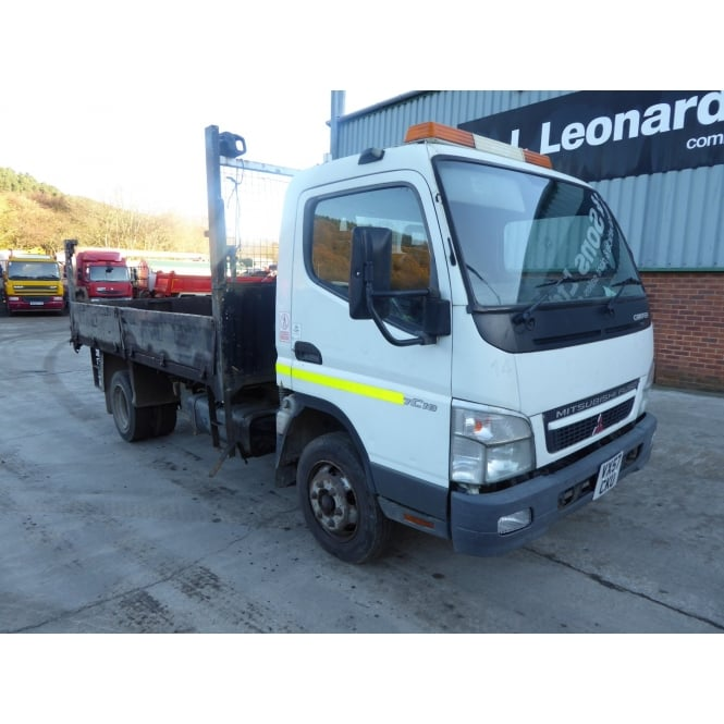 MITSUBISHI Canter 7C18 4x2 Tipper 2007 MANUAL GEARBOX