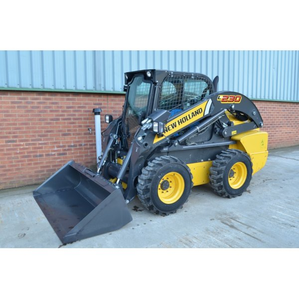 New Holland L230 Wheeled Skid Steer Loader Used Machines From Cj