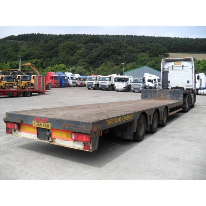 NOOTEBOOM 3 Axle Extending Step Frame Trailer 1993 - Commercial ...