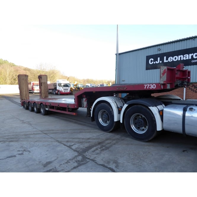 NOOTEBOOM OSD-73-04 4 AXLE LOW LOADER 2008