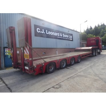OSD Semi Low Loader 4 Axle Trailer 2004
