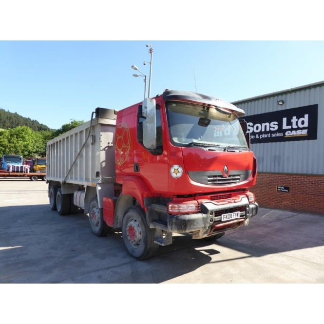 RENAULT Kerax 410 8x4 Tipper 2008 MANUAL GEARBOX