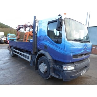 Premium 220 DCi 4x2 2004 Flatbed Brick Grab Lorry MANUAL GEARBOX
