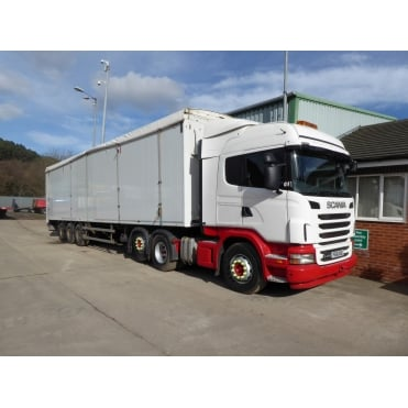 G440 6x2 Tractor Unit Tag Axle 2011 *WITH Stokota 45ft Walking Floor Trailer 120cu yards 2013*