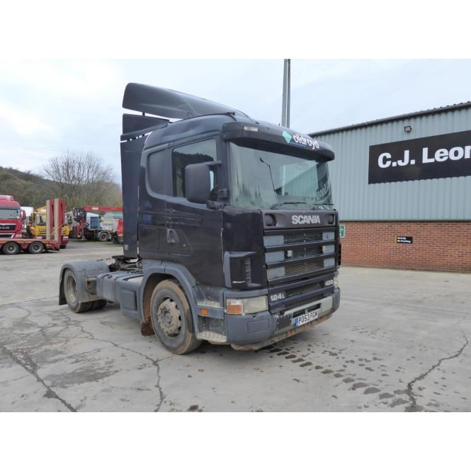 SCANIA L420 4x2 Tractor Unit 2003 MANUAL GEARBOX