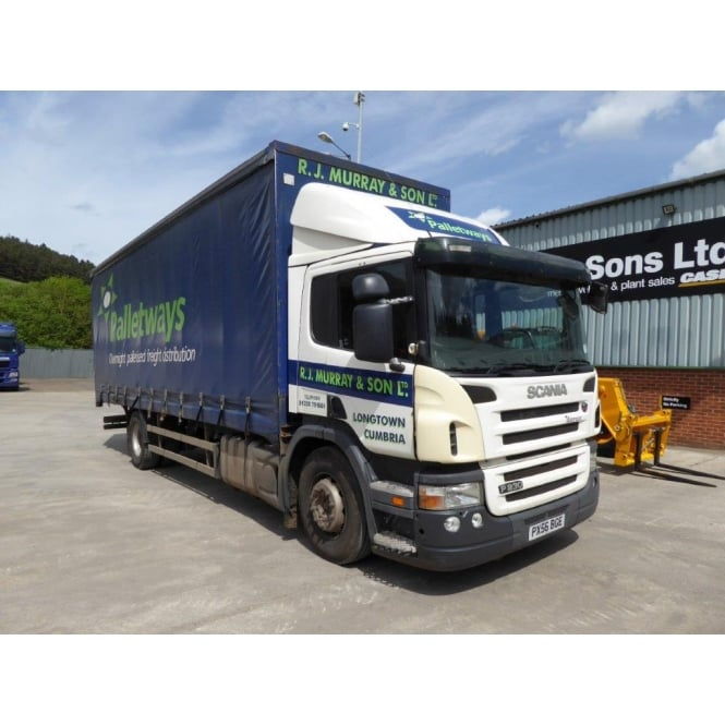 SCANIA P230 Curtainsider 4x2 2006 MANUAL GEARBOX *CHOICE 3**