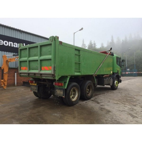 SCANIA P310 6x4 Aluminium Insulated Tipper 2007 MANUAL