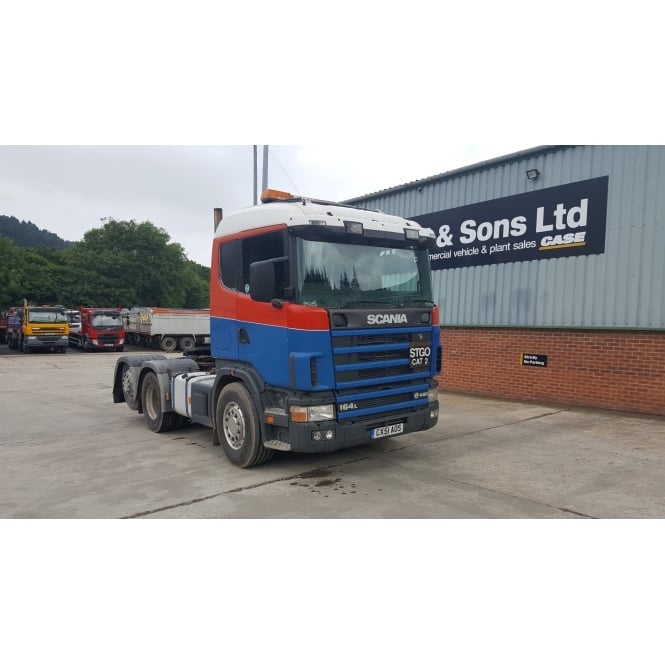 SCANIA R164.480 V8 6x2 Tag Axle Tractor Unit 2001 MANUAL GEARBOX
