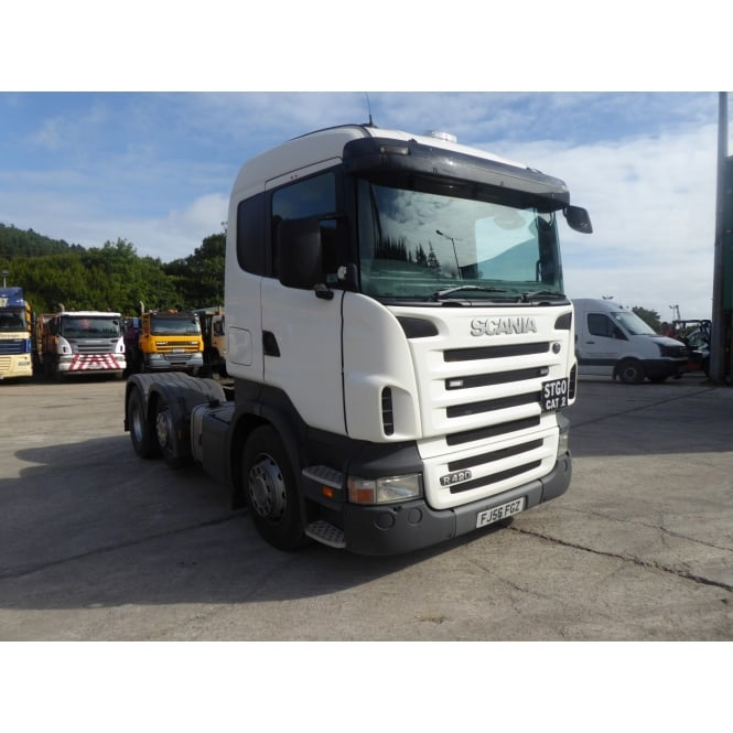 SCANIA R420 6x2 Tractor Unit 2006 MANUAL GEARBOX