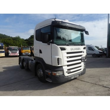 R420 6x2 Tractor Unit 2006 MANUAL GEARBOX