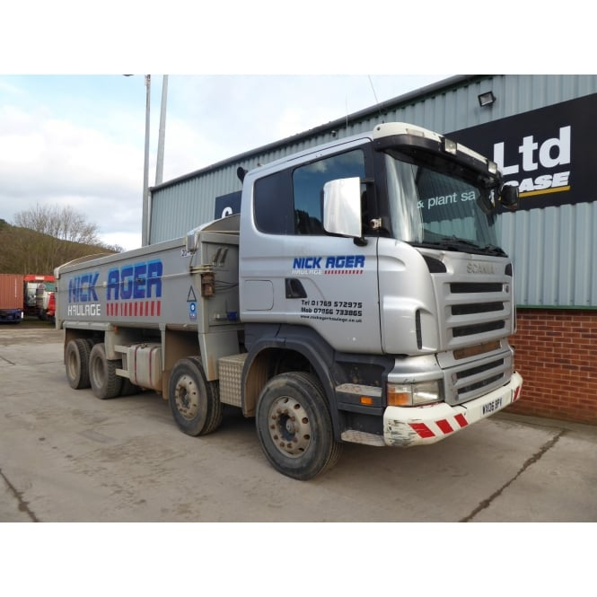 SCANIA R420 8x4 Tipper 2006 EURO 3 MANUAL GEARBOX