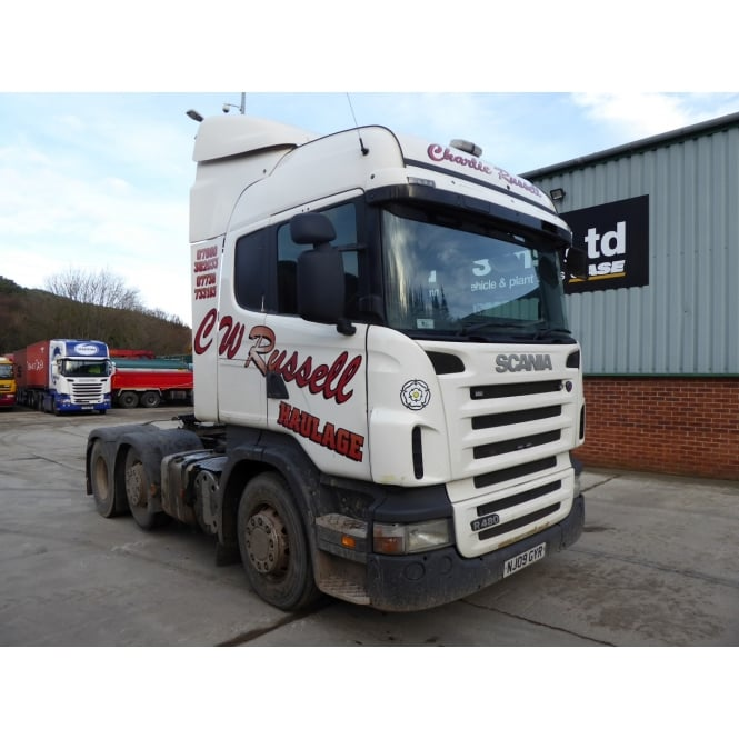 SCANIA R480 6x2 Tractor Unit 2009 EURO 4