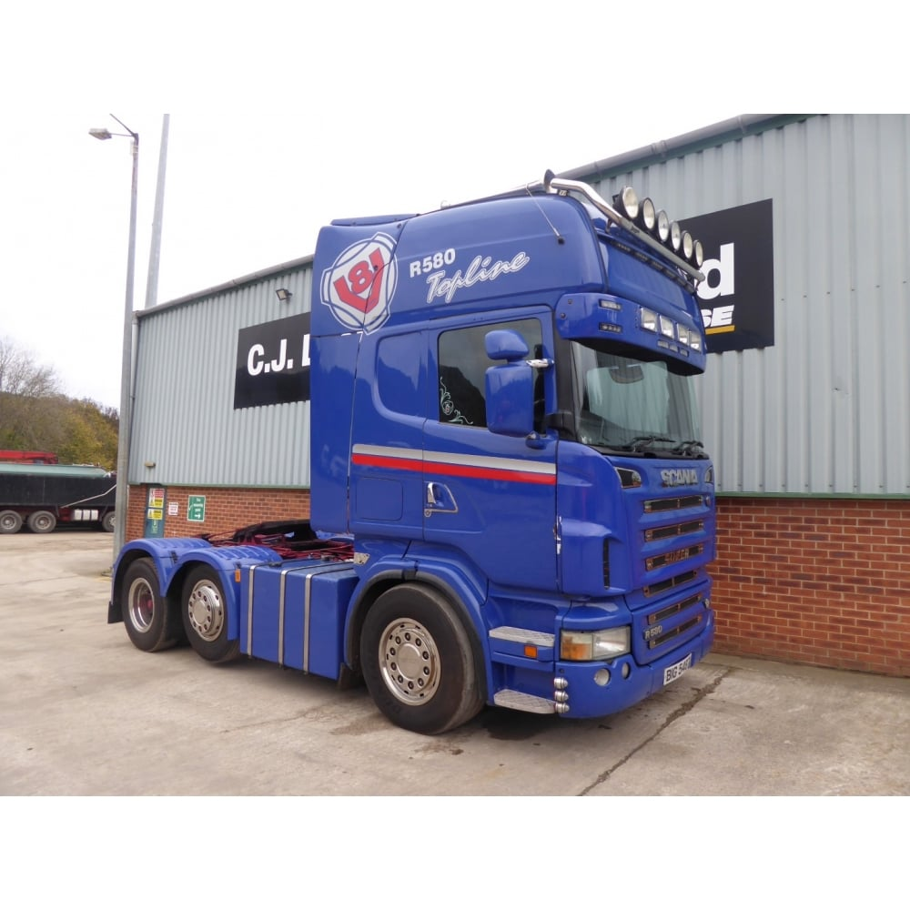 Célèbre SCANIA R580 V8 6x2 Tractor Unit 2006 MANUAL GEARBOX - Commercial  YY86