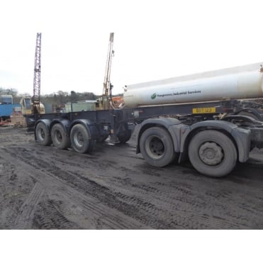 Tri-Axle Skeletal Extendable Trailer 2003