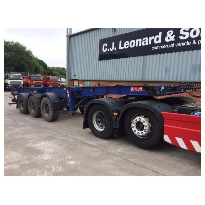 SDC Tri-Axle Skeletal Extendable Trailer 2007 *CHOICE 2*