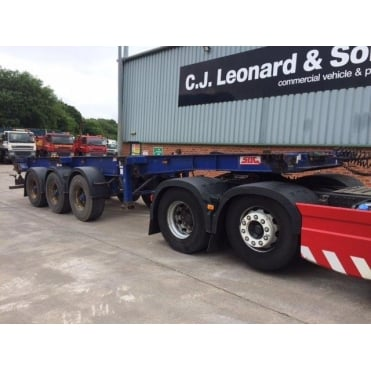 Tri-Axle Skeletal Extendable Trailer 2007 *CHOICE 2*