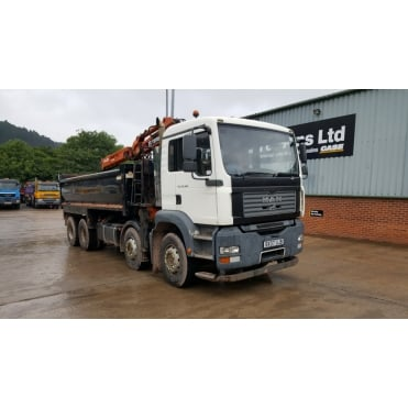 TGA 32-360 8x4 Tipper/Grab 2007 MANUAL GEARBOX