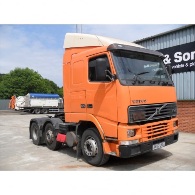 volvo fh12 420 6x2 t unit 2002 manual gearbox commercial rh cjleonard co uk 1999 Volvo Truck Commercial 2002 Volvo Truck Models
