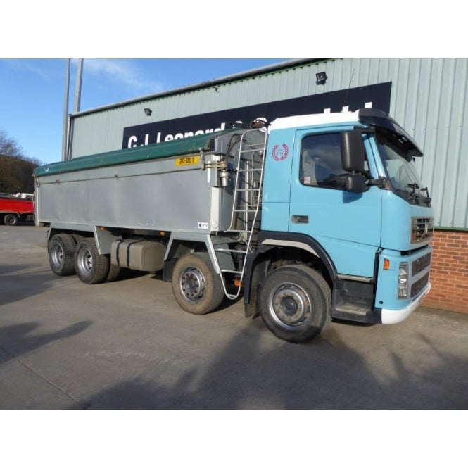 VOLVO FM12-380 2005 8x4 Alloy Tipper MANUAL GEARBOX EURO 3