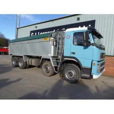 FM12-380 2005 8x4 Alloy Tipper MANUAL GEARBOX EURO 3