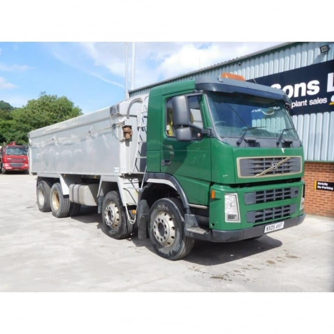 VOLVO FM12-380 8x4 Alloy Tipper 2005 MANUAL GEARBOX EURO 3