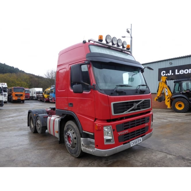 VOLVO FM13-440 6x2 Tractor Unit 2008 MANUAL GEARBOX